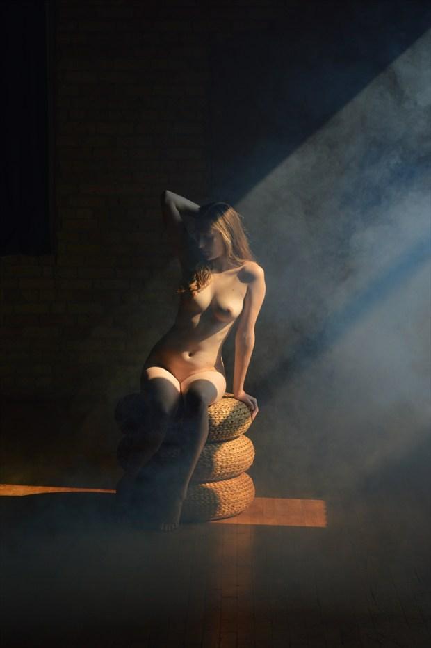 Artistic Nude Portrait Photo by Model Eleanor Kathryn
