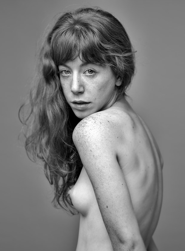 Artistic Nude Portrait Photo by Model Liv Sage