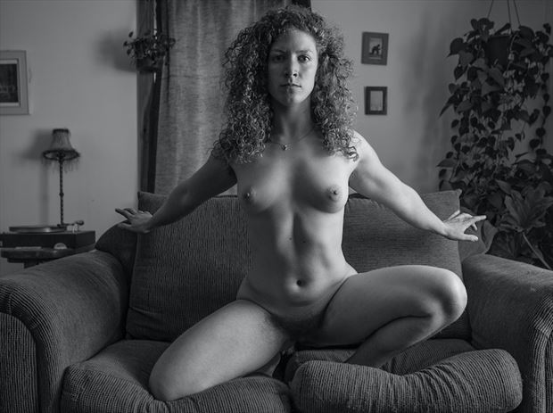 Artistic Nude Portrait Photo by Model Madeline Reynolds