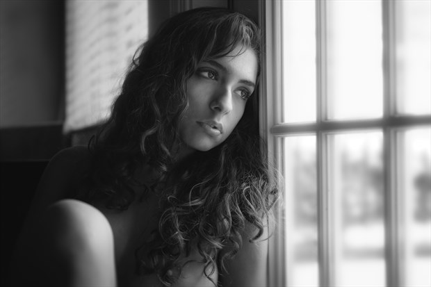 Artistic Nude Portrait Photo by Model Monique