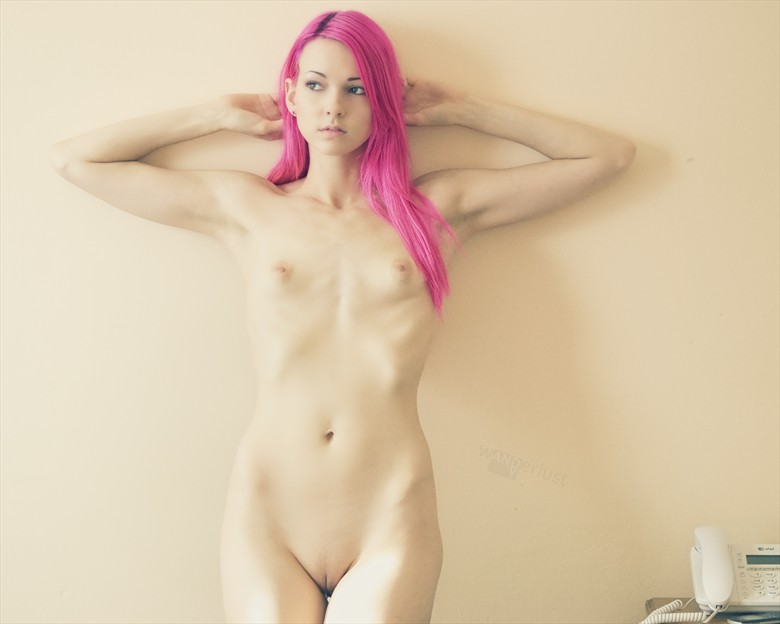 Artistic Nude Portrait Photo by Model Raven Le Faye