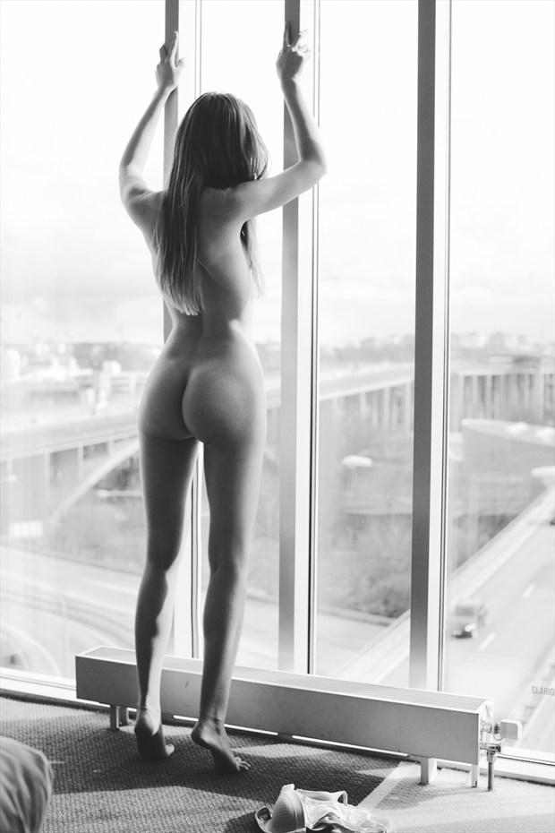 Artistic Nude Retro Photo by Model Elina