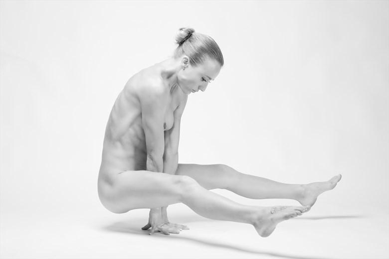 Artistic Nude Self Portrait Artwork by Model Chelsea Jo
