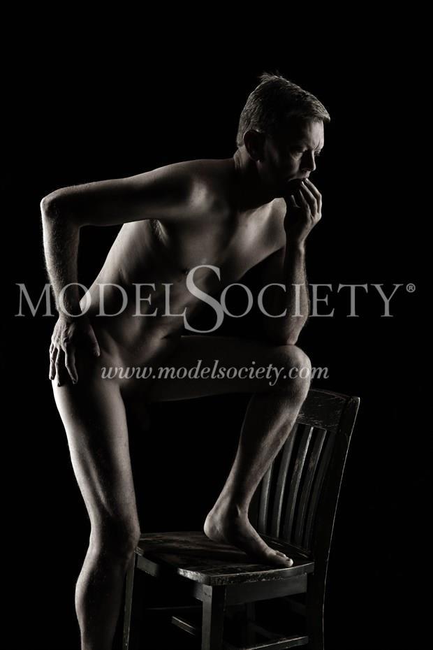 Artistic Nude Self Portrait Artwork by Photographer rdp