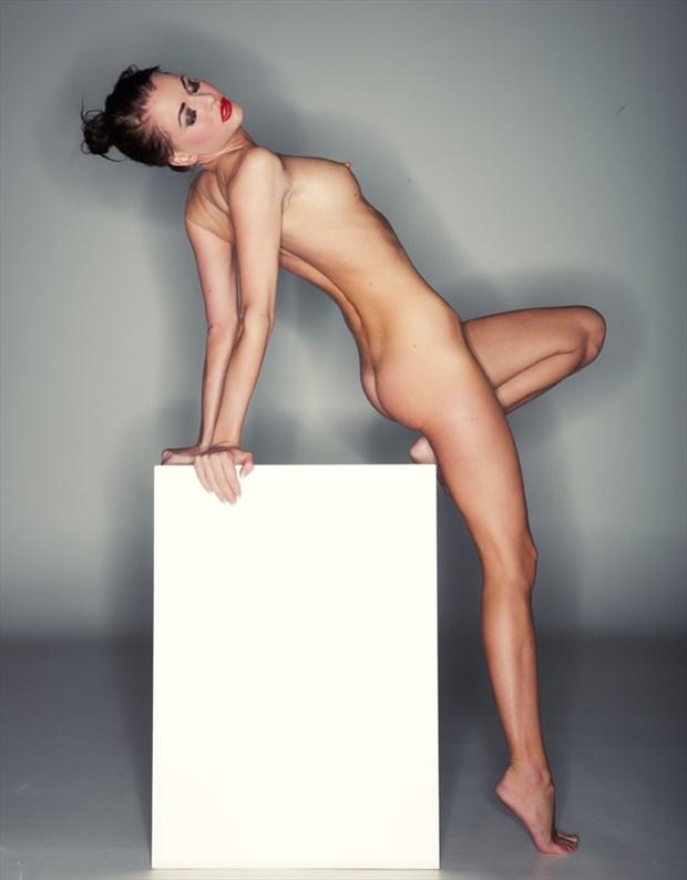 Artistic Nude Self Portrait Photo by Model Anna Johansson