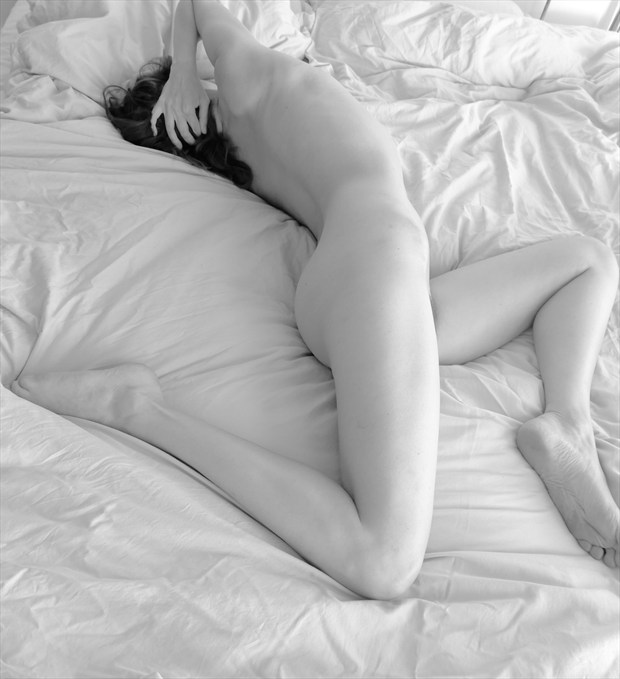 Artistic Nude Self Portrait Photo by Model Nelenu