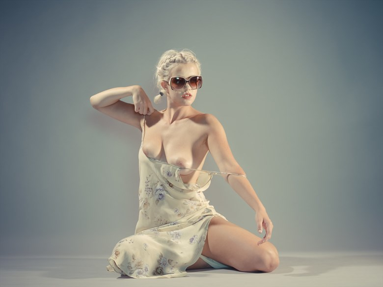 Artistic Nude Self Portrait Photo by Model Peach Meadows Kennedy