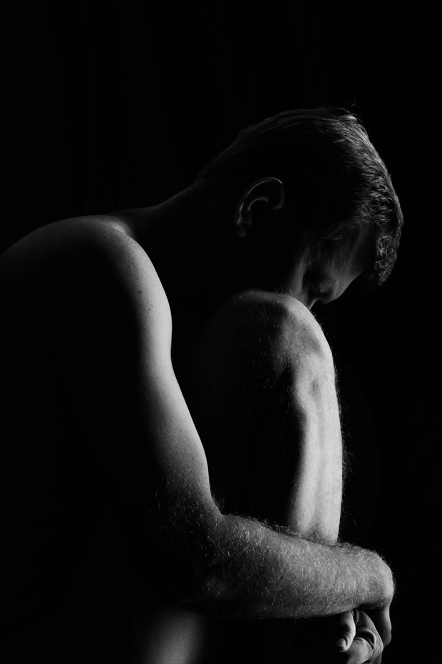 Artistic Nude Self Portrait Photo by Photographer rdp