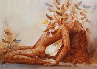 Artistic Nude Sensual Artwork by Artist Ali