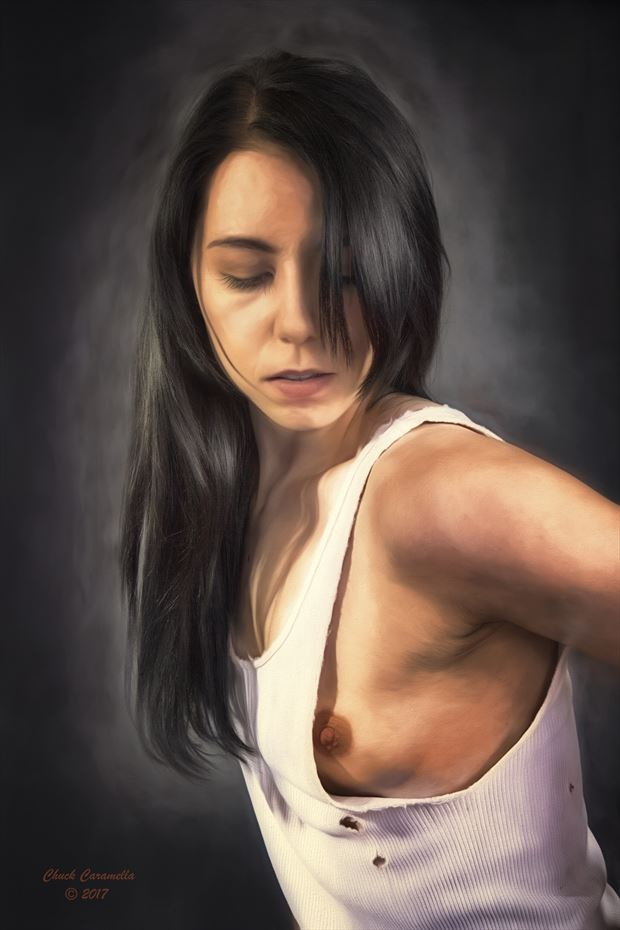 Artistic Nude Sensual Artwork by Artist Charles  Caramella