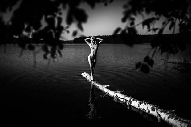 Artistic Nude Sensual Artwork by Model Anna Johansson