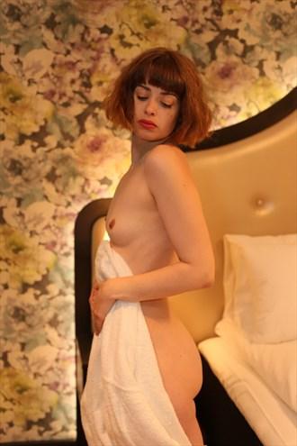 Artistic Nude Sensual Artwork by Model Charlotte Blanco