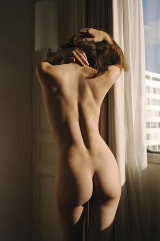 Artistic Nude Sensual Artwork by Model Kyotocat
