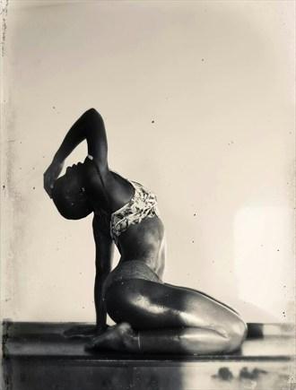 Artistic Nude Sensual Artwork by Model Nandi_Makeda