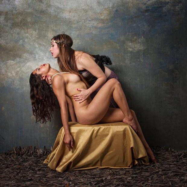 Artistic Nude Sensual Artwork by Model Zazyl