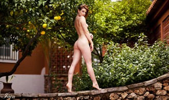 Artistic Nude Sensual Photo by Model Artemis Fauna