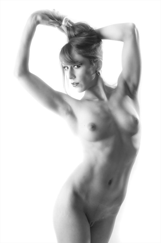 Artistic Nude Sensual Photo by Model Dahlia Black