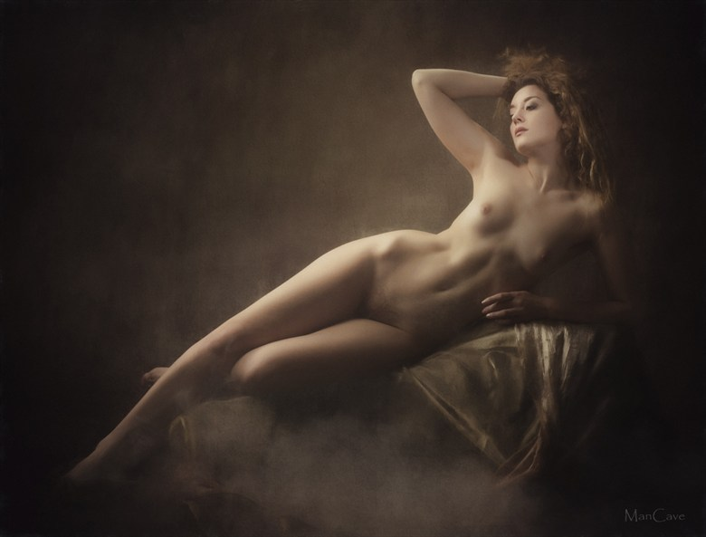 Artistic Nude Sensual Photo by Model Ella Rose Muse