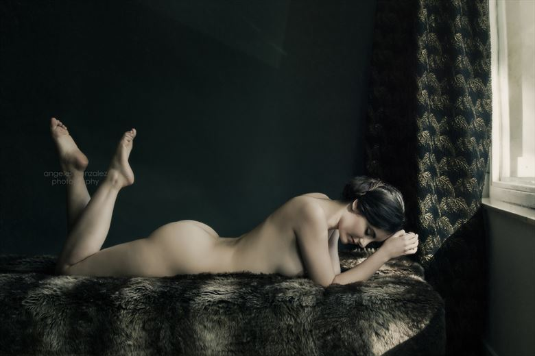 Artistic Nude Sensual Photo by Model Nieves