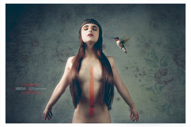 Artistic Nude Sensual Photo by Photographer Christian Melfa