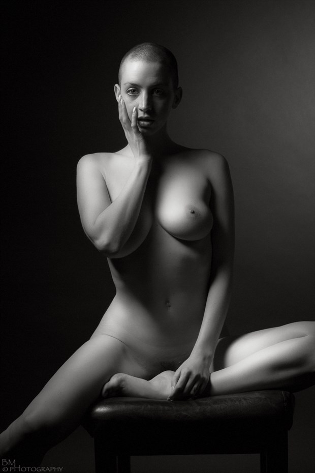 Artistic Nude Silhouette Artwork by Model Katlin Tucker