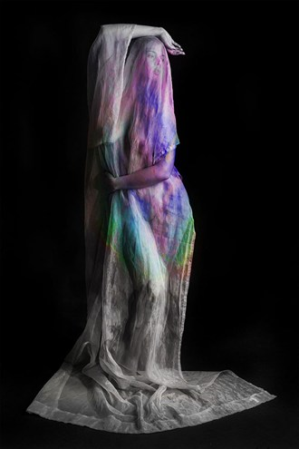Artistic Nude Silhouette Artwork by Model LoveInfinity