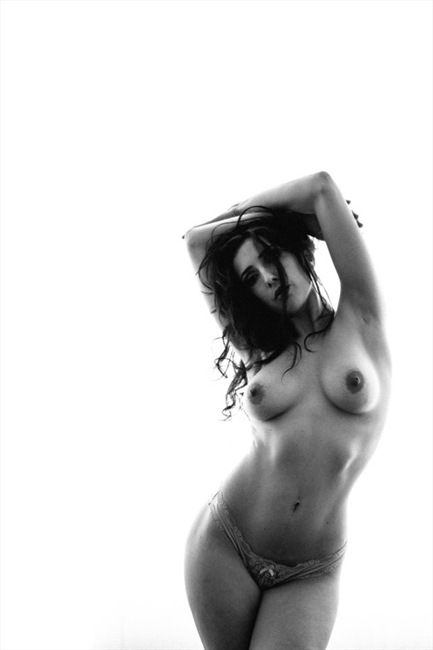 Artistic Nude Silhouette Photo by Model Anoush A