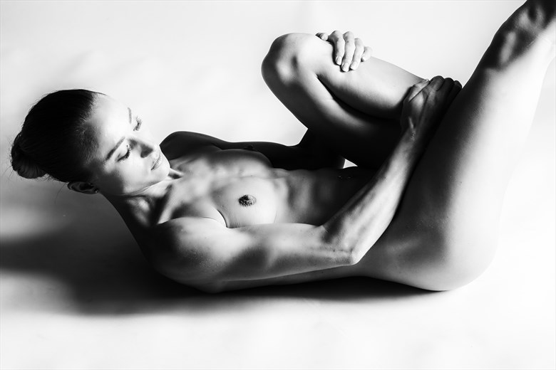 Artistic Nude Silhouette Photo by Model Chelsea Jo