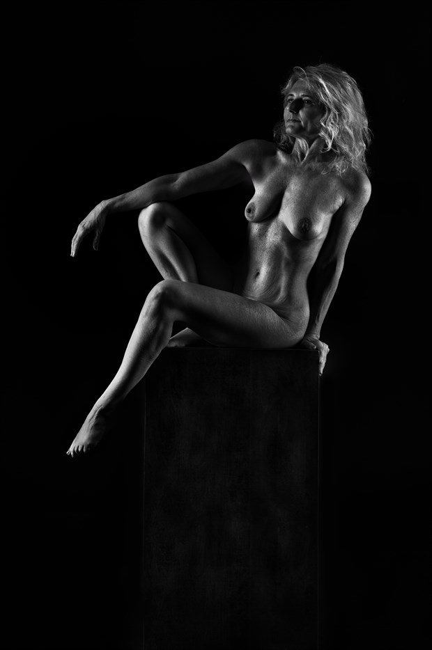 Artistic Nude Silhouette Photo by Model Darkmoon artist