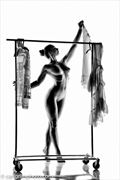 Artistic Nude Silhouette Photo by Model Elle Beth