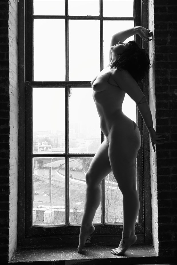 Artistic Nude Silhouette Photo by Model Hex Hypoxia