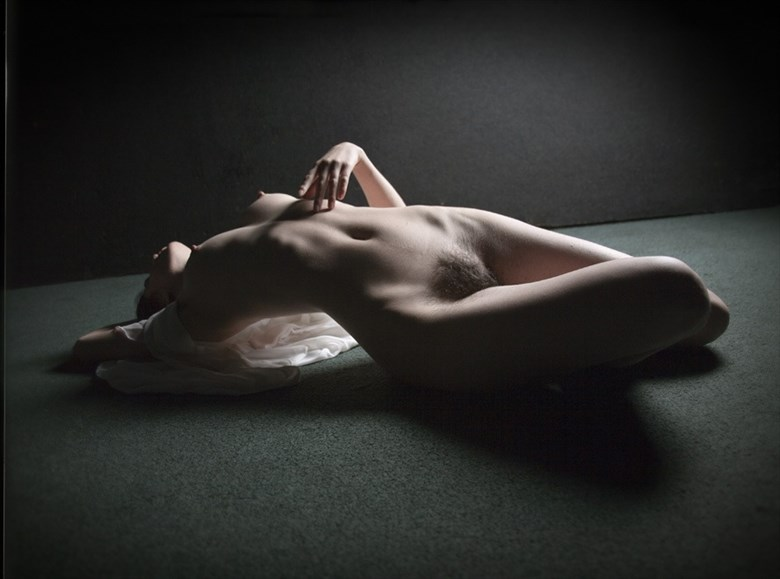 Artistic Nude Silhouette Photo by Model Kyotocat