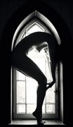 Artistic Nude Silhouette Photo by Model Minh Ly