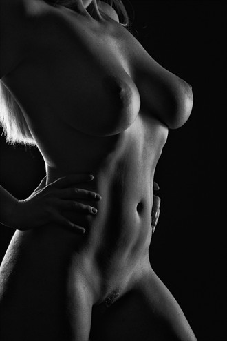Artistic Nude Silhouette Photo by Model NicoleNudes