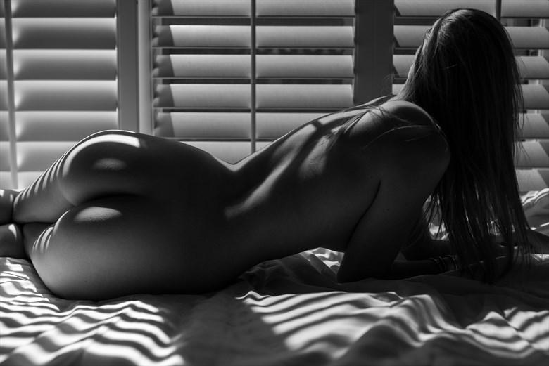 Artistic Nude Silhouette Photo by Model Spacegirl
