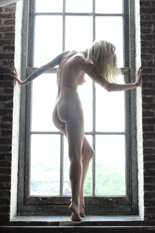 Artistic Nude Silhouette Photo by Model Theresa Manchester
