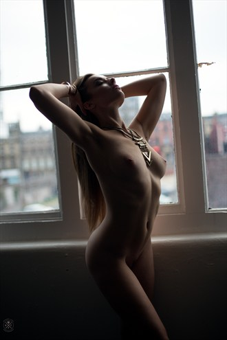 Artistic Nude Silhouette Photo by Photographer BeardedCynicPhotography