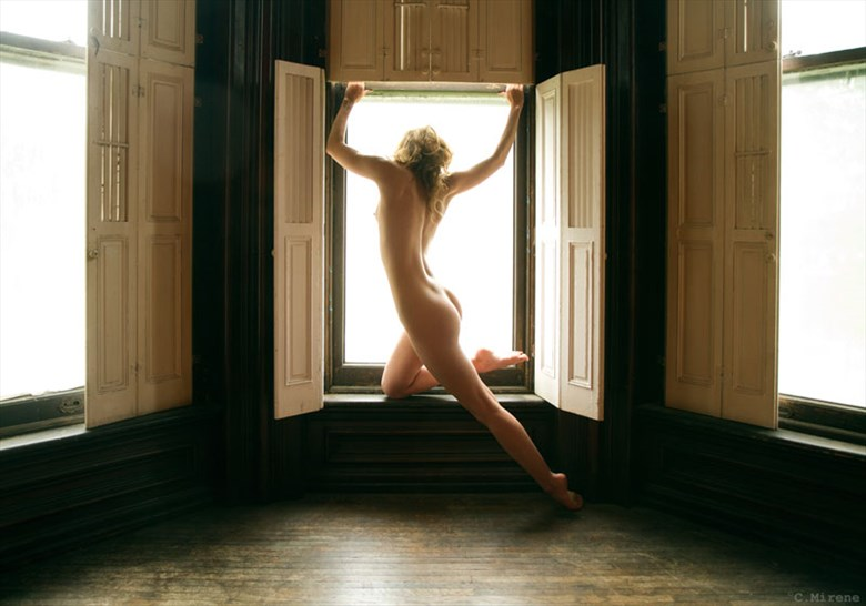 Artistic Nude Silhouette Photo by Photographer C Mirene