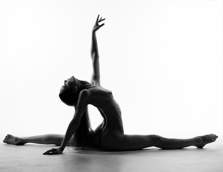 Artistic Nude Silhouette Photo by Photographer Steve Coulter