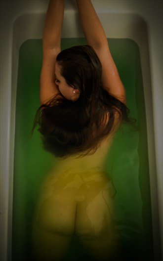 Artistic Nude Soft Focus Photo by Model Lillias Right