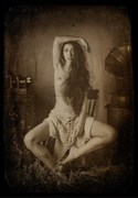 Artistic Nude Soft Focus Photo by Model Madame Bink