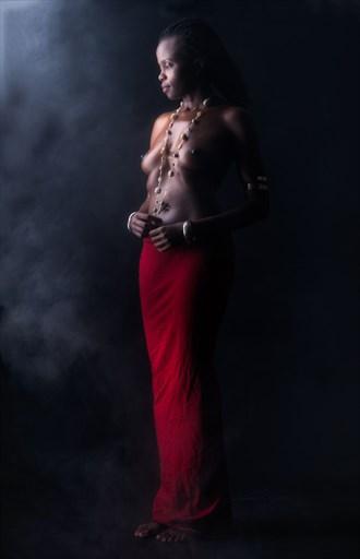 Artistic Nude Studio Lighting Artwork by Model Lenah