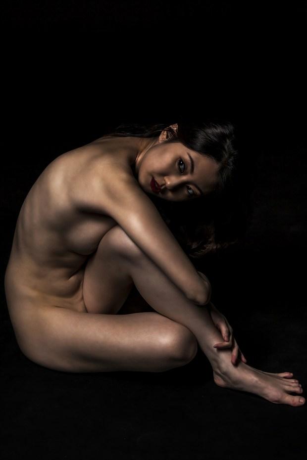 Artistic Nude Studio Lighting Artwork by Model Sonya Lynn