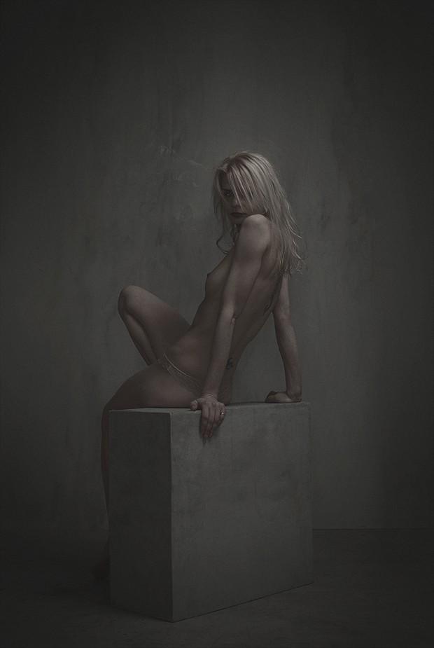 Artistic Nude Studio Lighting Artwork by Model alissa
