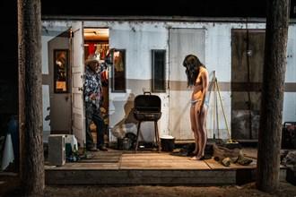Artistic Nude Studio Lighting Artwork by Photographer Alec Dawson