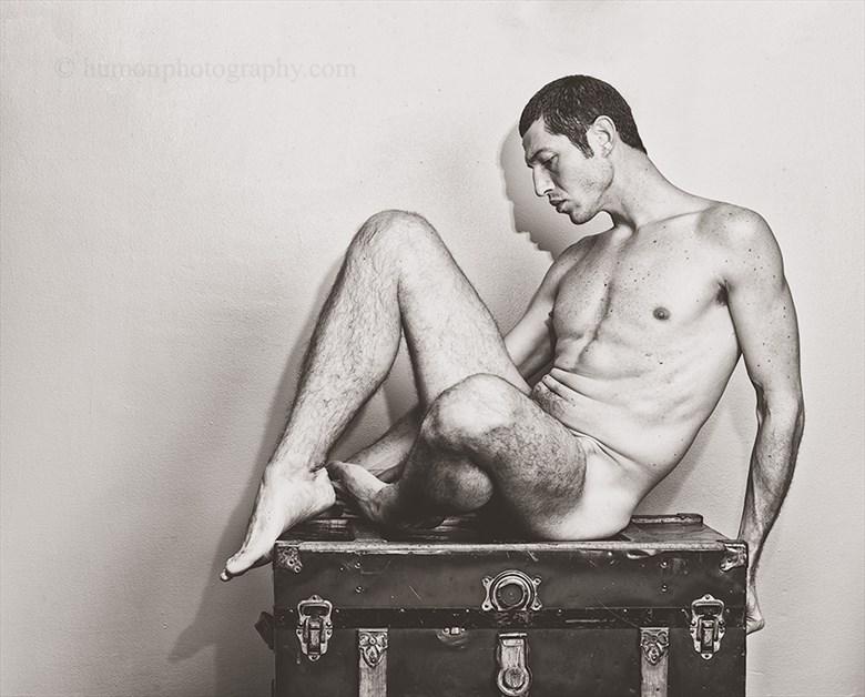 Artistic Nude Studio Lighting Artwork by Photographer humon photography