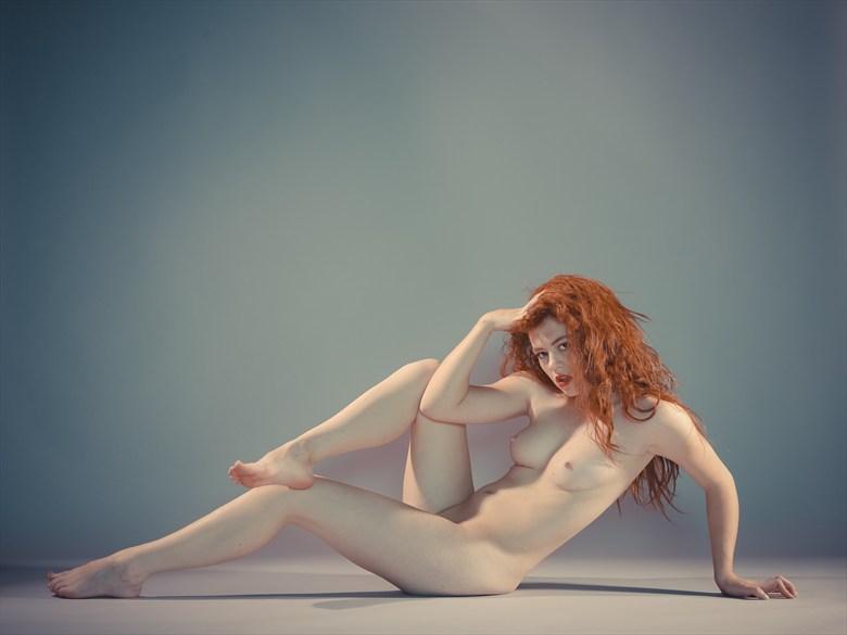 Artistic Nude Studio Lighting Photo by Model Allie Summers