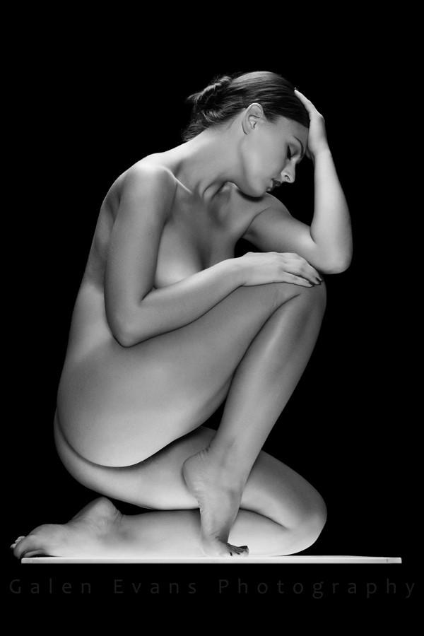 Artistic Nude Studio Lighting Photo by Model AnastasiaA