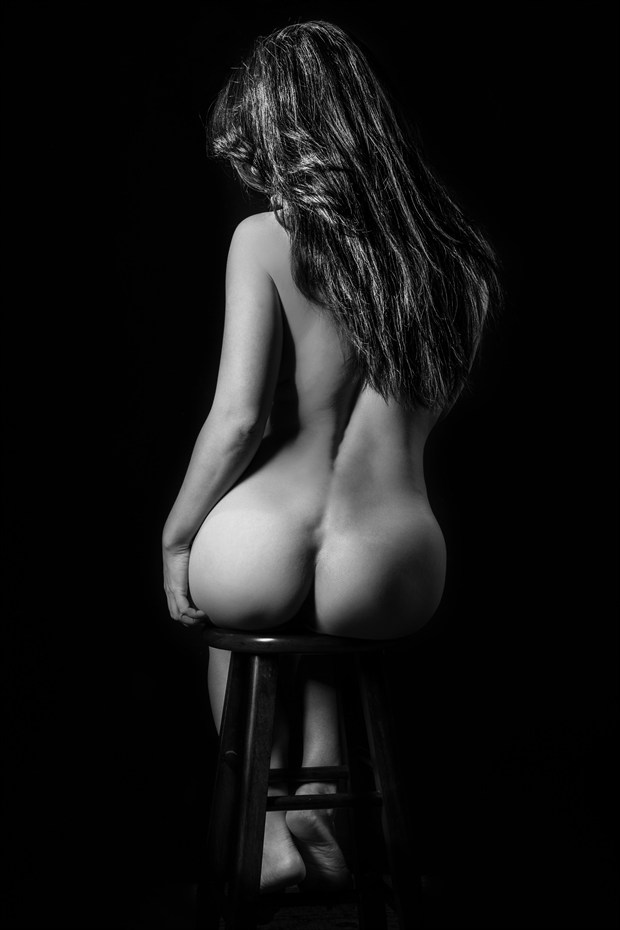 Artistic Nude Studio Lighting Photo by Model April A McKay