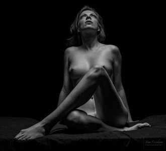 Artistic Nude Studio Lighting Photo by Model Augusta Monroe